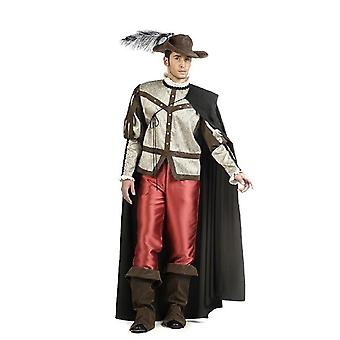 Mr kostyme musketeren fighter musketeren kostyme mens kostyme beskytter en for alle