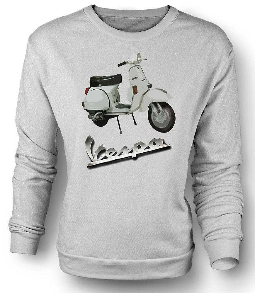 Mens Sweatshirt Vespa PX 200 - klassisk Scooter