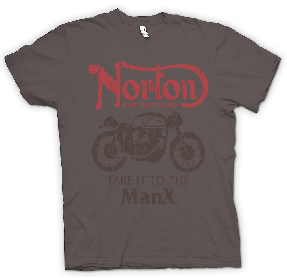 Womens T-shirt - Take It To The Manx