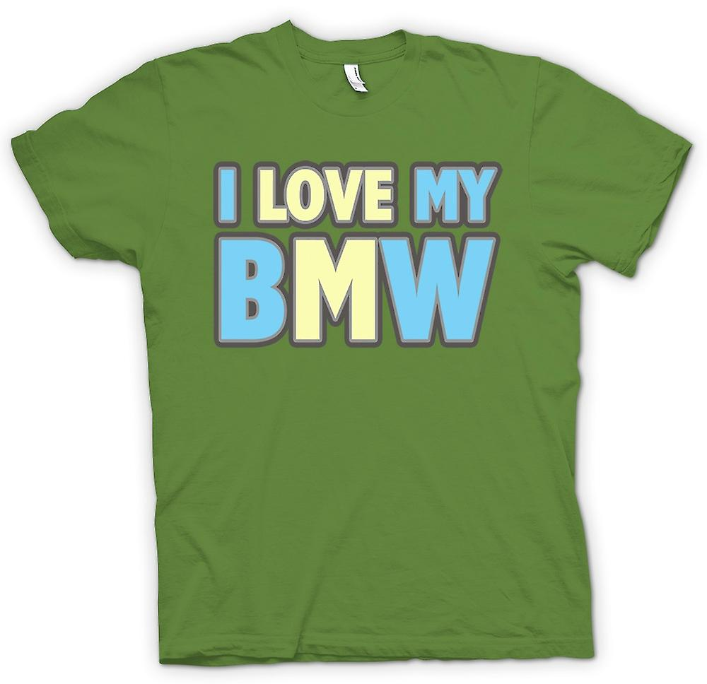 Mens T-shirt - Jag älskar min BMW - Car Enthusiast
