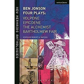 Ben Jonson: Quatre pièces de théâtre (nouvelles sirènes)