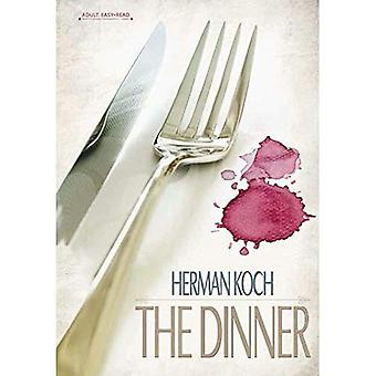 The Dinner (New Adult Easy Read)