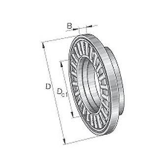 INA AXW35 Axial Needle Roller Bearing