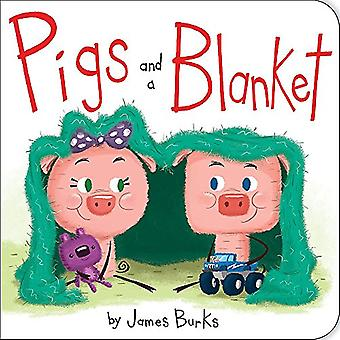 Pigs And A Blanket [Board book]