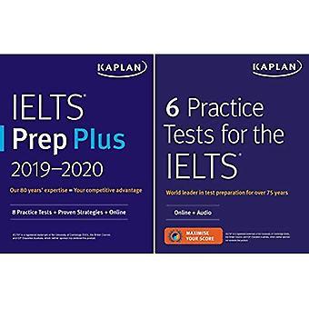Ielts Prep Set: 2 Books +� Online (Kaplan Test Prep)