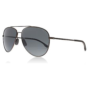 Hugo Boss 0938/S 2P4 Brown Rubber 0938/S Pilot Sunglasses Lens Category 3 Size 62mm
