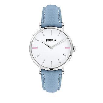 FURLA Analog quartz ladies watch with leather R4251108507