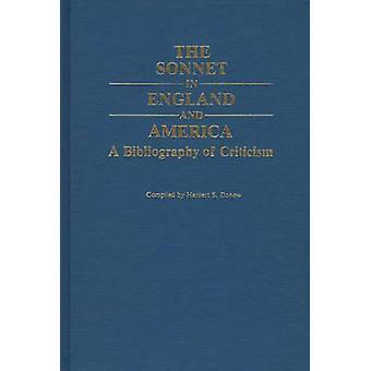 Das Sonett in England und Amerika eine Bibliographie der Kritik von Donow & Herbert S.