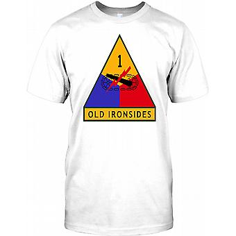 US Army 1st Armored Division - Old Ironside Kids T Shirt