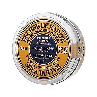 L'Occitane Organic Pure Shea Butter Enriched With Vitamin E 5.2oz / 150ml
