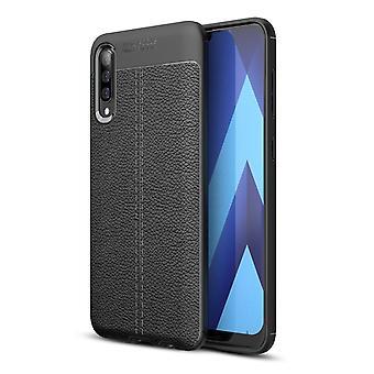 Samsung Galaxy A18 TPU-Shell litchi grain