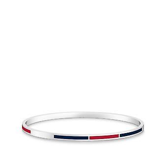 Washington Nationals - Bracciale smalto bicolore in rosso e blu scuro