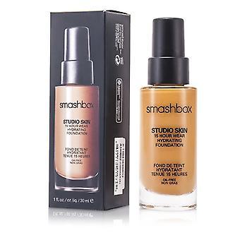 Smashbox Studio Skin 15 timmars Wear Hydra ting Foundation-# 2,4 (ljus medium med varm, Peachy Undertone) 30ml/1oz