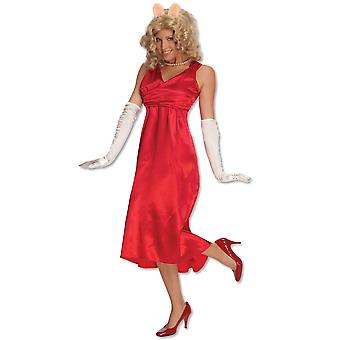 Miss Piggy The Muppets Licensed Women Costume STD