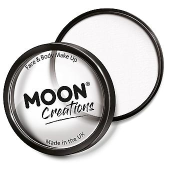 Moon Creations - Pro Face & Body Paint Cake Pots - White