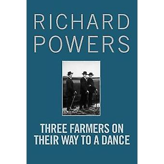 Three Farmers on Their Way to a Dance by Richard Powers