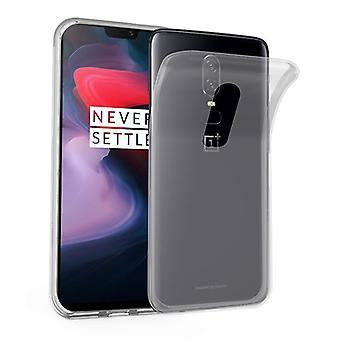 Cadorabo Case for OnePlus 6 Case Cover - Mobile Phone Case made of flexible TPU silicone - Silicone Case Protective Case Ultra Slim Soft Back Cover Case Bumper