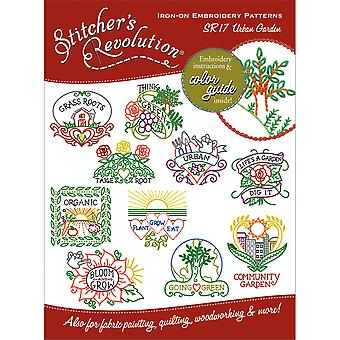 Stitcher's Revolution Iron On Transfers Urban Garden Sr 17