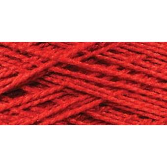 Needloft Craft Yarn 20 Yard Card Red 510 01