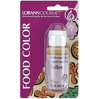 Liquid Food Color 1 Ounce Yellow Lfc 1120