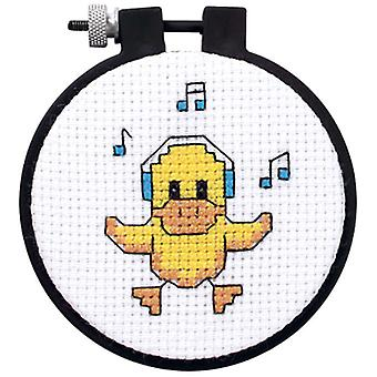 Learn A Craft Ducky Counted Cross Stitch Kit 3