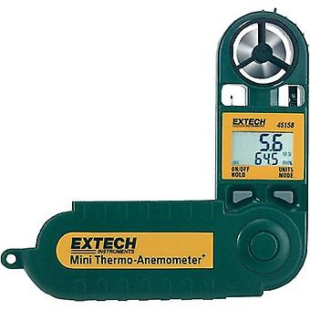 Anemometer Extech 45158 0.5 up to 28 m/s Calibrated to Manufacturer standards
