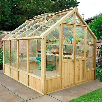 Forest Garden Vale 10x8 Wooden Greenhouse