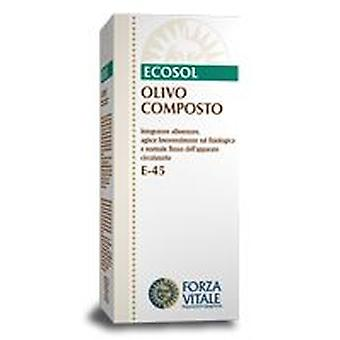 Forza Vitale Compost Extract 50Ml Olivo.