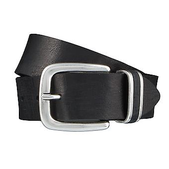BERND GÖTZ belts men's belts leather belt black 3893
