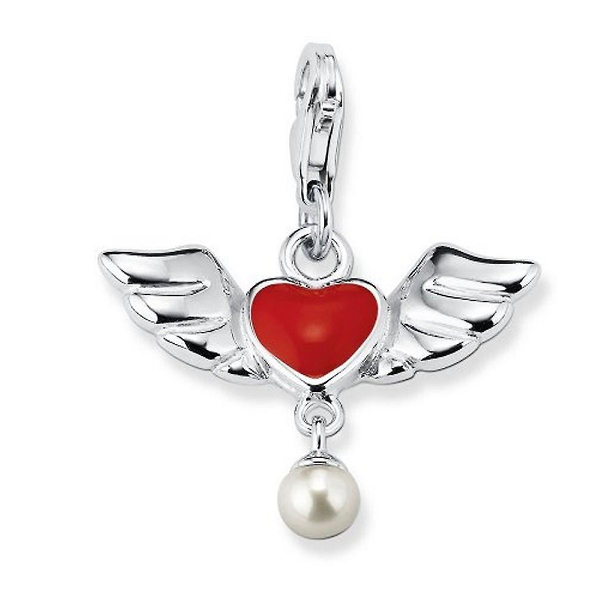 s.Oliver Jewel Ladies pendant silver heart wings SOCHA / 171-403474