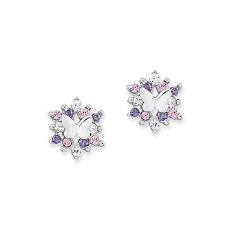 Princess Lillifee children earrings silver Butterfly PLFS/79 - 9245598