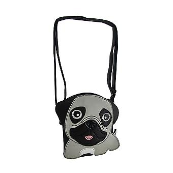Sleepyville zwierzątka Pug Puppy krzyż ciała portmonetka