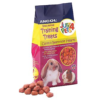 Just 4 Pets Treats Beetroot & Carrot 90g (Pack of 8)
