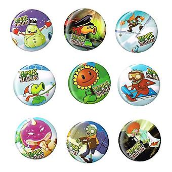 STOCK ITEM | Mid Size Badges | PVZ PLANTS VS ZOMBIES | Ideal Party Bag Badges | SINGLE BADGE