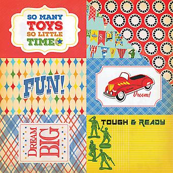 Toy Box Double-Sided Cardstock 12