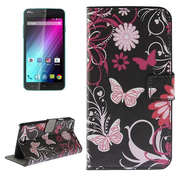 Pocket wallet premium pattern 4-to WIKO Lenny