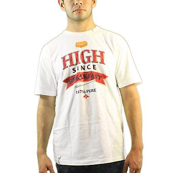 Lifted Research Group Herb High Since Breakfast 147% Pure Men's White T-shirt