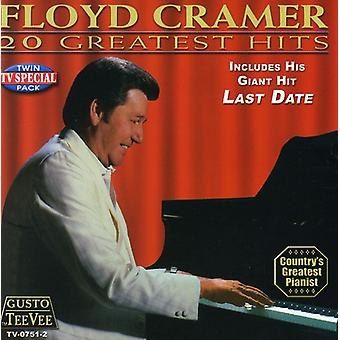 Floyd Cramer - 20 Greatest Hits CD] USA importerer