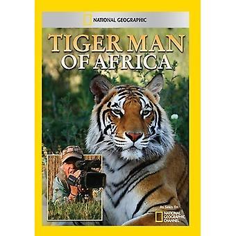 Tiger Man of Africa [DVD] USA import
