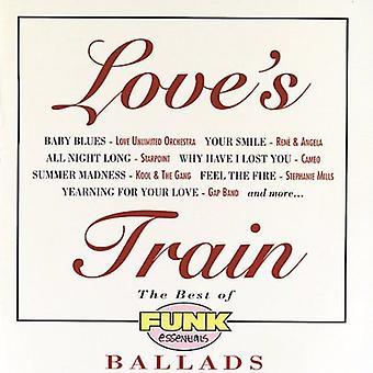 Loves tåg - bästa av Funk Essentials Ballad [CD] USA import