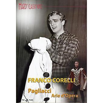 Franco Corelli - Pagliacci operaarier [DVD] USA import