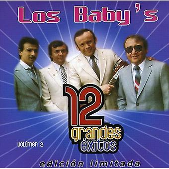 De los bebé - Los bebés: Vol. 2-12 Grandes Exitos [CD] USA importar