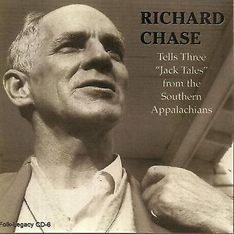 Richard Chase - fortæller tre 'Jack Tales' fra den sydlige Appalac [CD] USA import