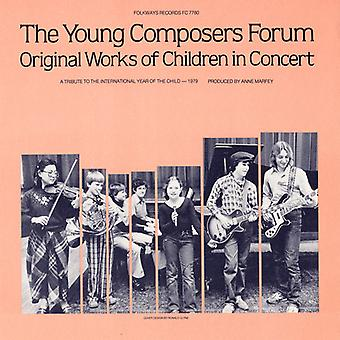 Young Composers Forum - Original Works of Children in Concert [CD] USA import