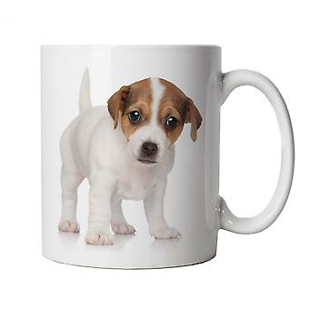 Vectorbomb, Jack Russell Puppy, Novelty Dog Mug