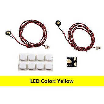Brickstuff Yellow Pico LED Light Board 2-Pack - LEAF01-PYE-2PK