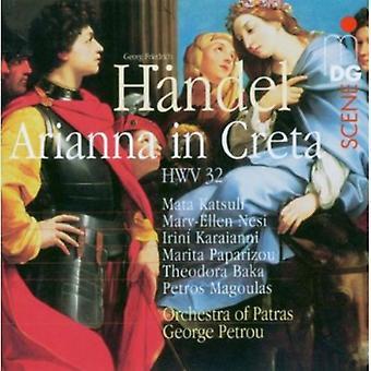 G.F. Handel - H Ndel: Arianna in Creta, Hwv 32 [CD] USA import
