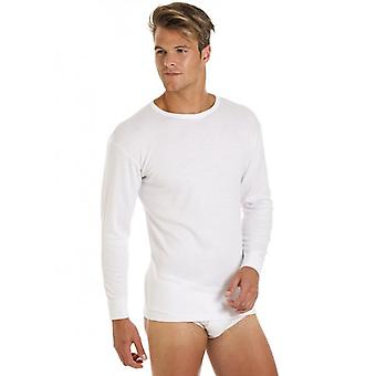 Haigman Mens Two Pack Long Sleeve Thermal T Shirt