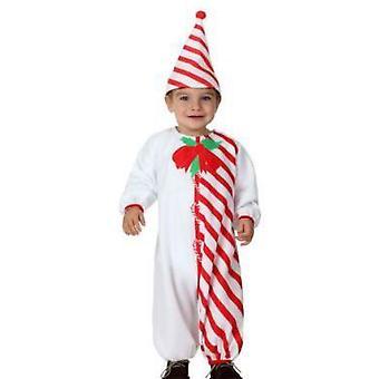 Disfraces bebé bebé Candy Cane traje de Navidad