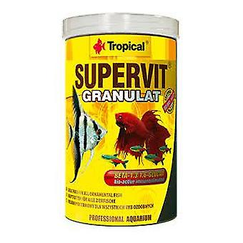 1000 Ml tropical granulado Supervit (peces, alimento, agua caliente)